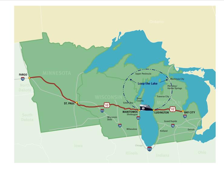 Enjoy a Lake Michigan Loop Adventure