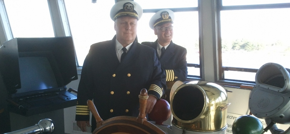 Captains Of The S.S. Badger
