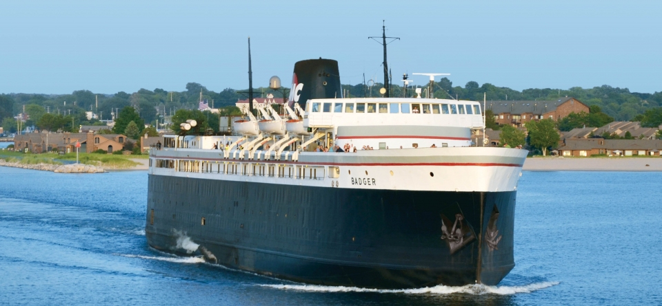 Experience Amazing... Authentic Steamship Experience aboard the S.S. Badger!